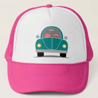 Fusca love trucker hat