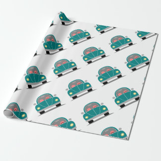 Fusca love wrapping paper
