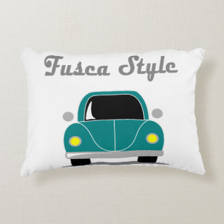 Fusca Style Accent Pillow