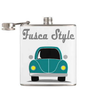 Fusca Style Hip Flask