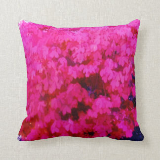Fuschia Bush Pillow