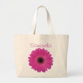 Fuschia Flower Jumbo Tote Bag