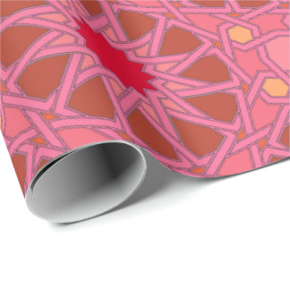 Fuschia Granada Wrapping Paper