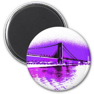 Fuschia Narrows Bridge magnet