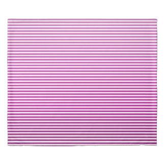 Fuschia Ombre Stripe Duvet Cover