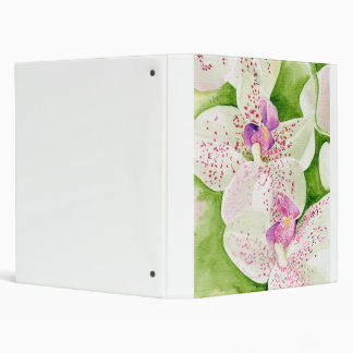 Fuschia Orchid Binder