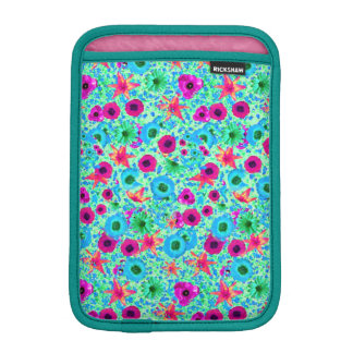 Fuschia Spring iPad Mini Vertical Sleeve For iPad Mini