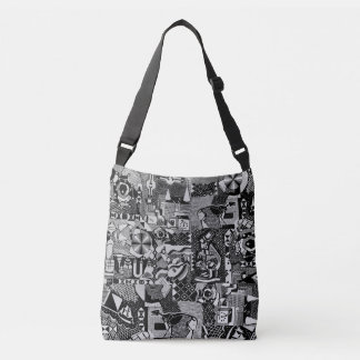 fusion_cosmicRAY Crossbody Bag