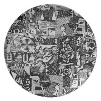 fusion_cosmicRAY Party Plates