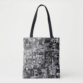 fusion_cosmicRAY Tote Bag