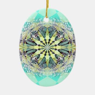 fusion_dewfresh ceramic oval ornament