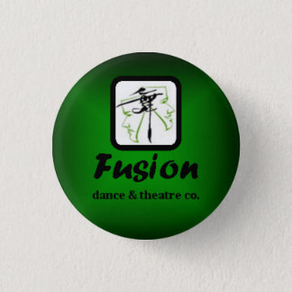 Fusion Green Small Button