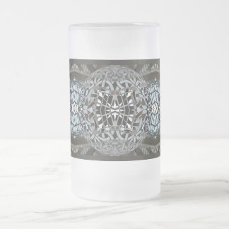 fusion_skylight frosted glass beer mug