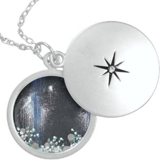 fusion_splatter sterling silver necklace