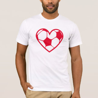 fussball_heart_2f T-Shirt