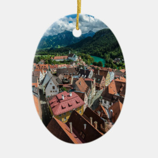 Fussen - Bavaria - Germany Ceramic Oval Ornament