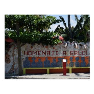 Fusterlandia Home of Popular Cuban Artist Postcard