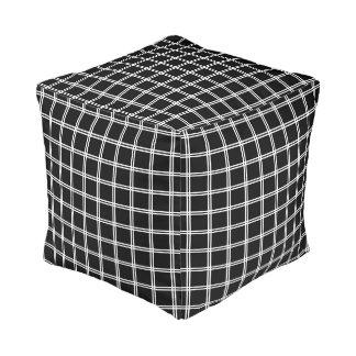 Futasujigoushi Japanese Pattern Pouf B
