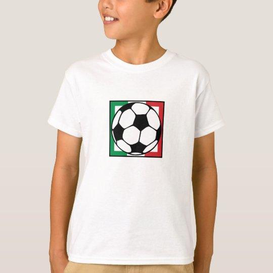 futbol. italia square. T-Shirt