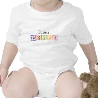 Futur bébé de génie barboteuse