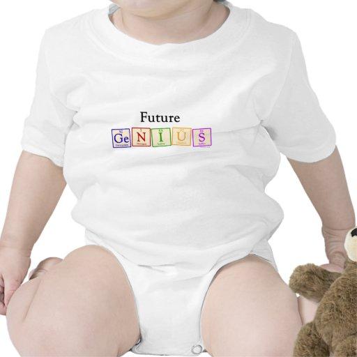 Futur bébé de génie barboteuses