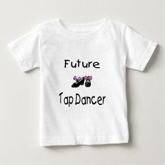 Futur danseur de claquettes t-shirt pour bébé