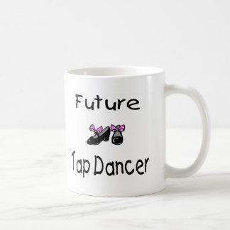 Futur danseur de claquettes tasse à café