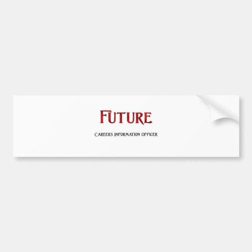 Futur Information Officer de carrières Adhésifs Pour Voiture