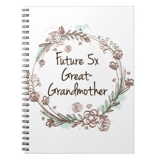 Future 5x Great-Grandmother - Genealogist Notebook