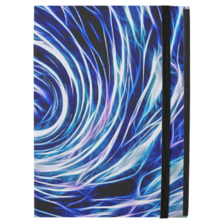 Future Abstract BL-iPad Pro Case with No Kickstand