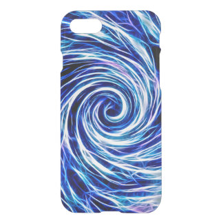 Future Abstract -BL/Purple- iPhone 7 Clearly™ Case