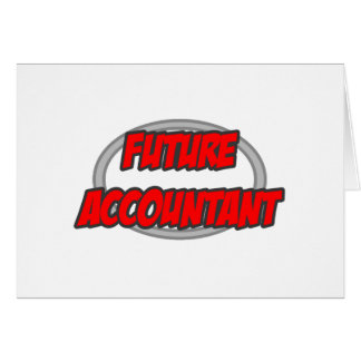 Future Accountant Card