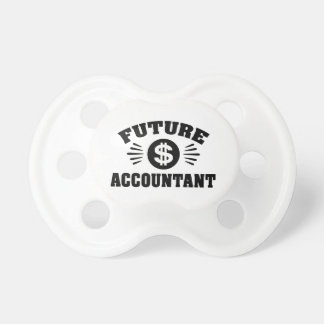 Future Accountant Pacifier