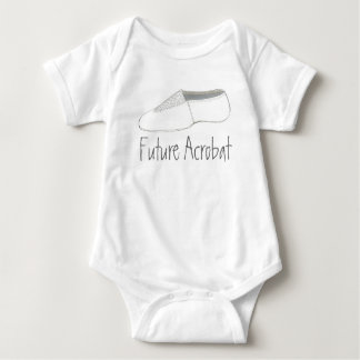 Future Acrobat Acro Gymnastics Shoe Dance Gym Baby Bodysuit