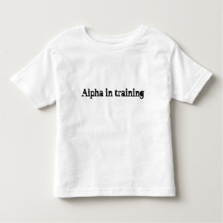 Future Alpha Toddler Shirt