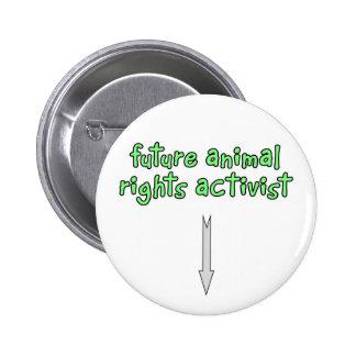 future animal rights activist button
