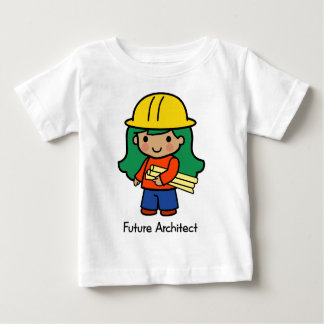 Future Architect - Girl Baby T-Shirt