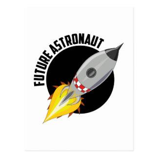 Future Astronaut Postcard