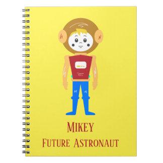 Future Astronaut Spiral Notebook