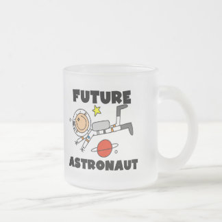 Future Astronaut T-shirts and Gifts Frosted Glass Coffee Mug