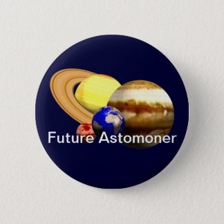 Future Astronomer 2 Inch Round Button