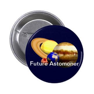 Future Astronomer 2 Inch Round Button