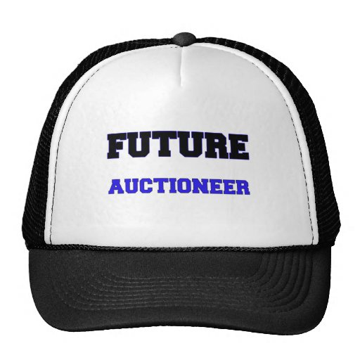 Future Auctioneer Mesh Hats