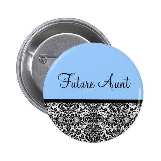 Future Aunt 2 Inch Round Button