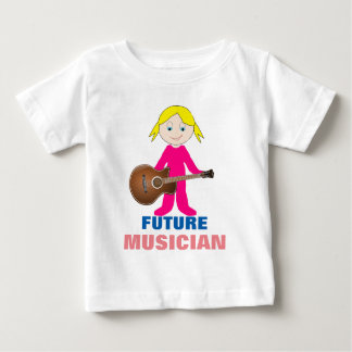 Future Baby Guitarist Toddler Fine Jersey T-Shirt