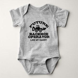 Future Backhoe Operator Like My Daddy Baby Bodysuit