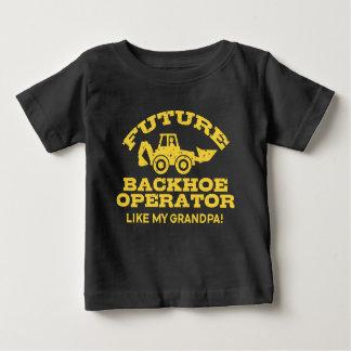 Future Backhoe Operator Like My Grandpa Baby T-Shirt