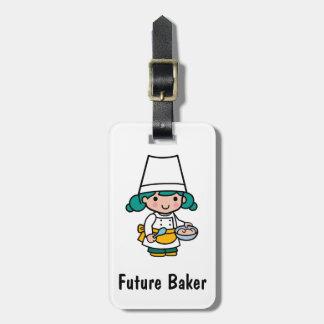Future Baker Luggage Tag
