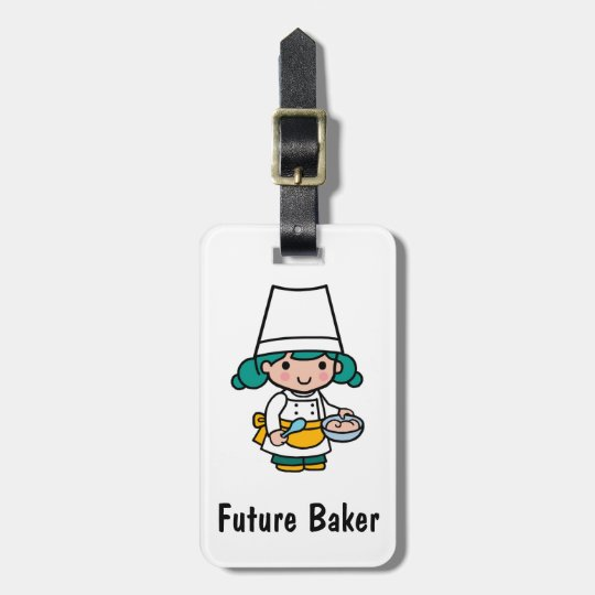 Future Baker Luggage Tag
