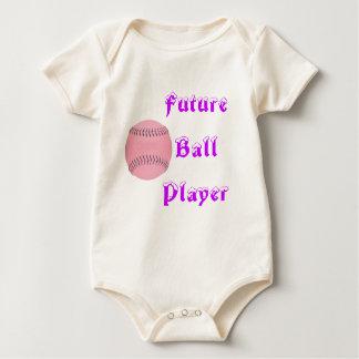 Future ball player romper